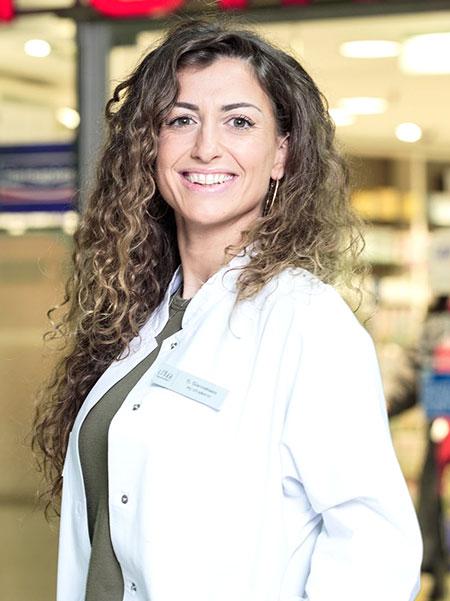 Apothekerin Frau Giannattasio